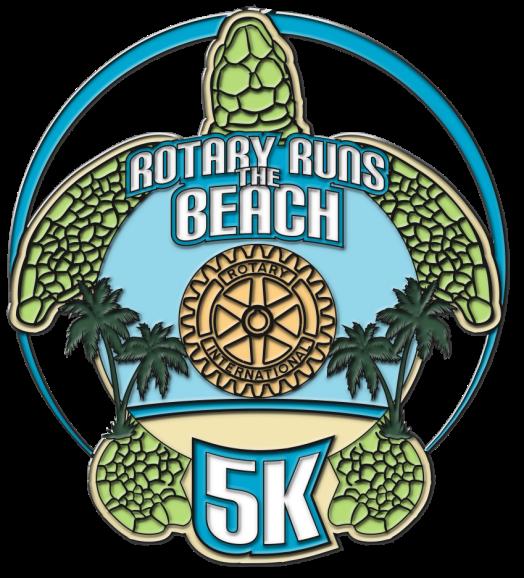 rotary runs the beach 5k